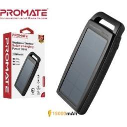 PROMATE SOLARBANK-15 15000 BATERIA SOLAR 2,1A USB Y LUZ LED