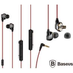 BASEUS NGH08-91 EARPHONE H08 IMMERSIVE 3D GAMING ROJO Y N