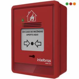 INCENDIO-Direccionable Pulsador Manual C/sirena AME 522-INTELBRAS