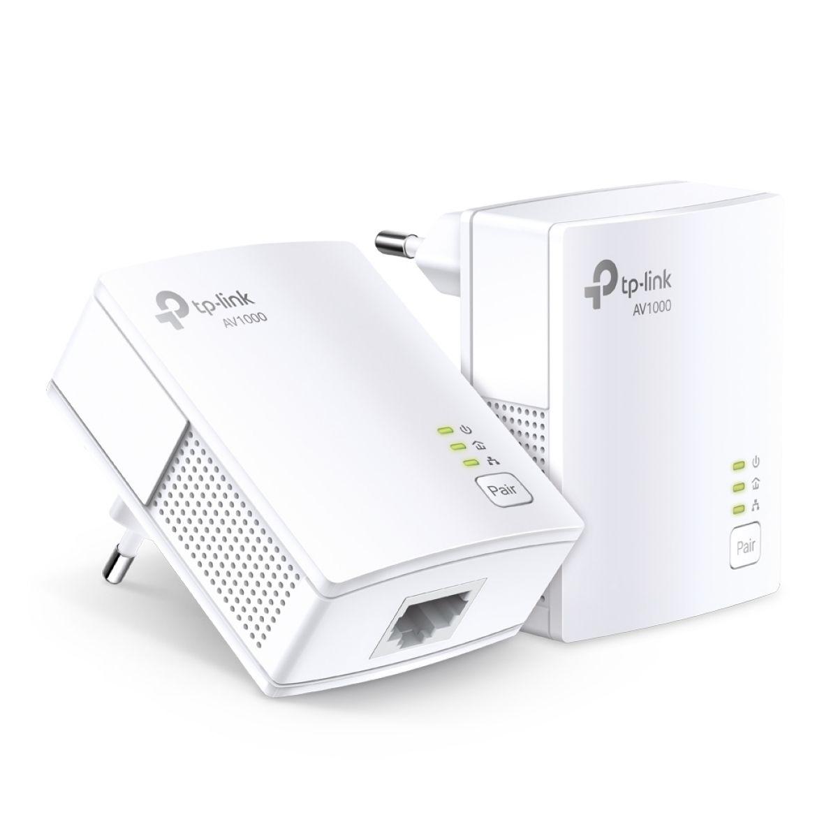 PLC PowerLine TP-Link Kit Av1000 Tl-pa7017P-kit (2 Un)