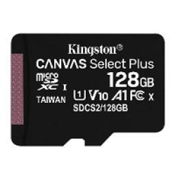Memoria Micro Sd Kingston 128GB C10 C/Adaptador